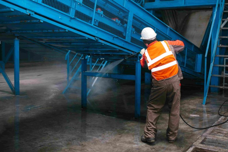 Nettoyage industriel professionnel